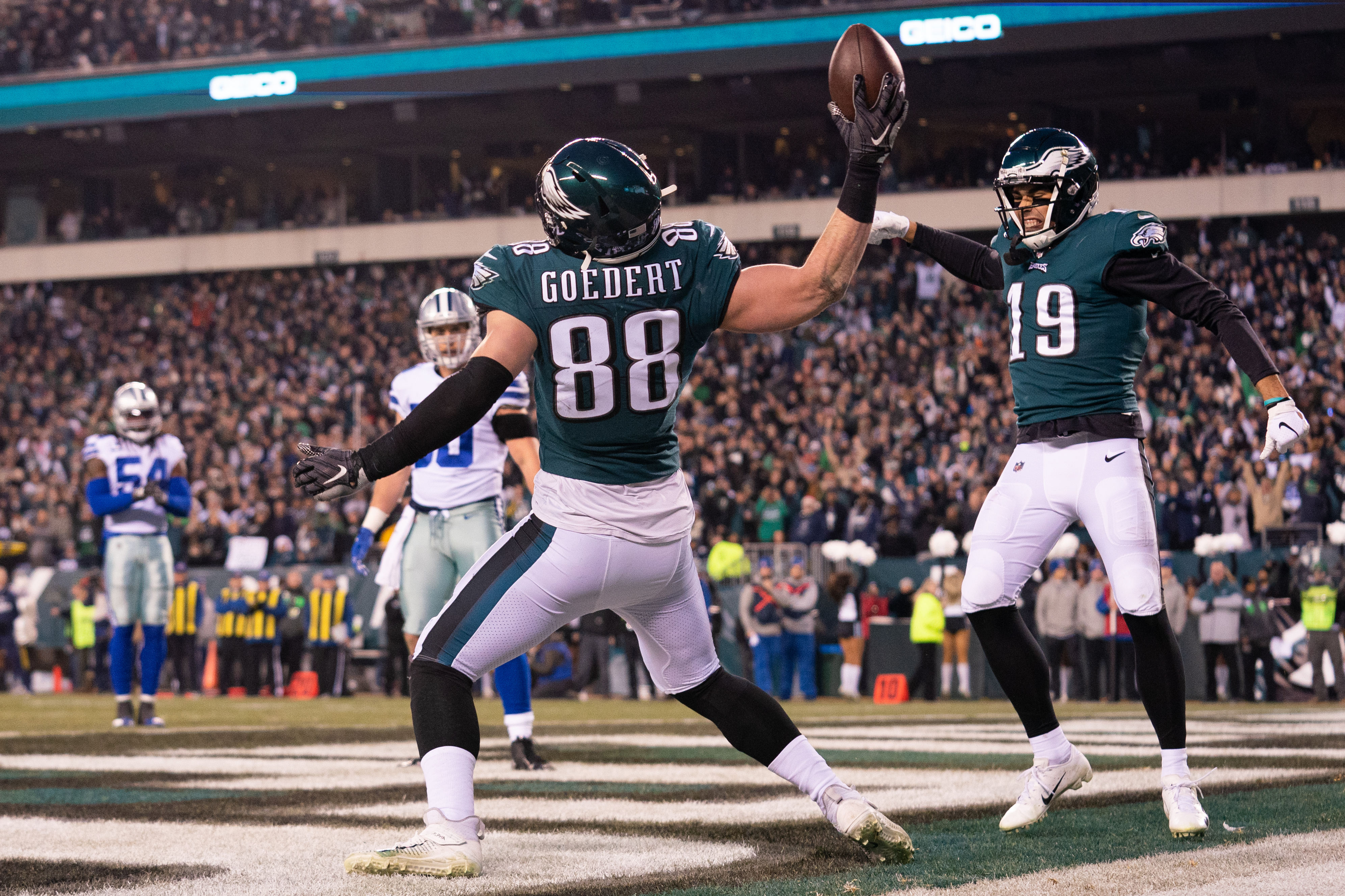Glimpsing the Eagles as Combine Nears