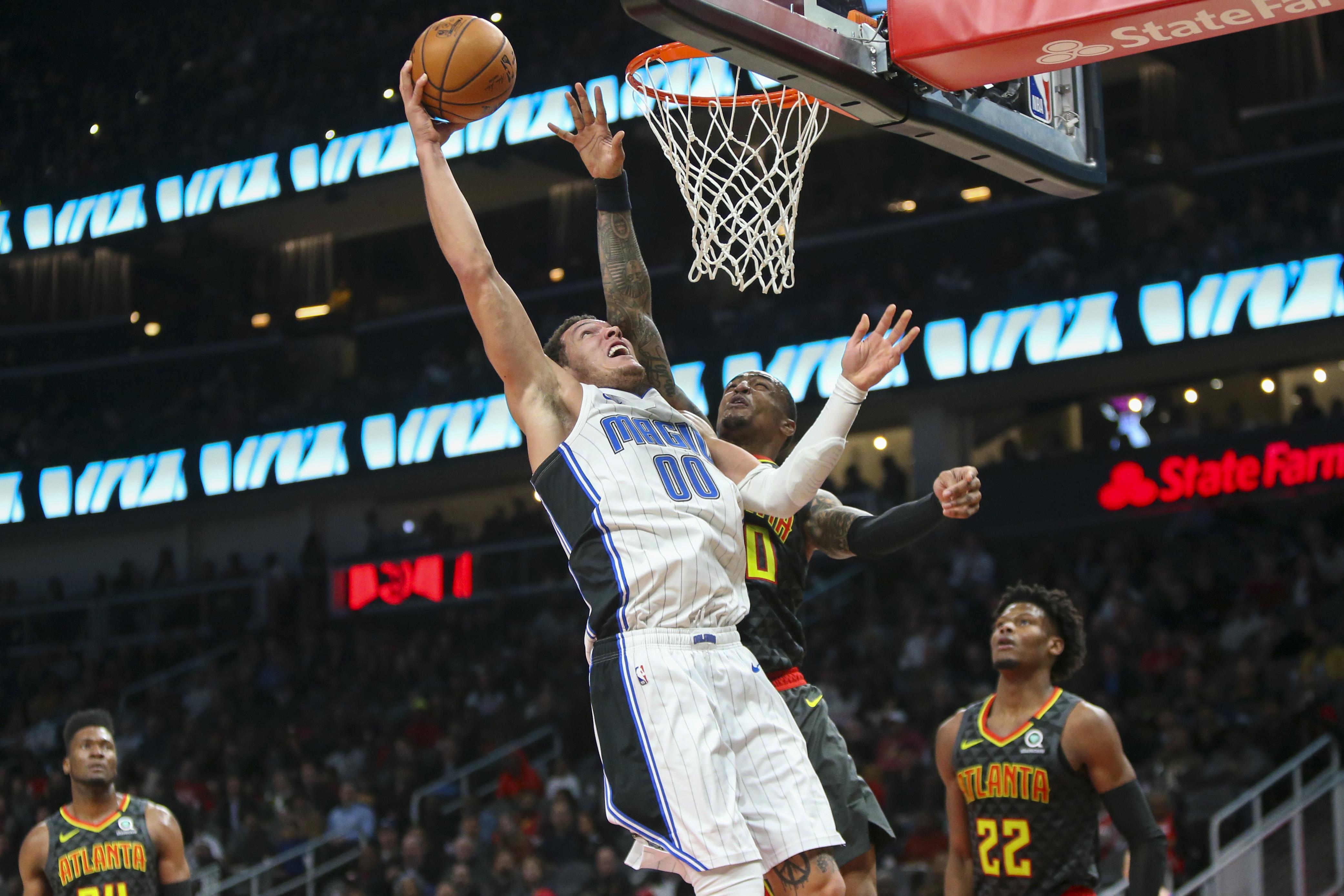 Hawks' Defense Slips In Loss to Magic
