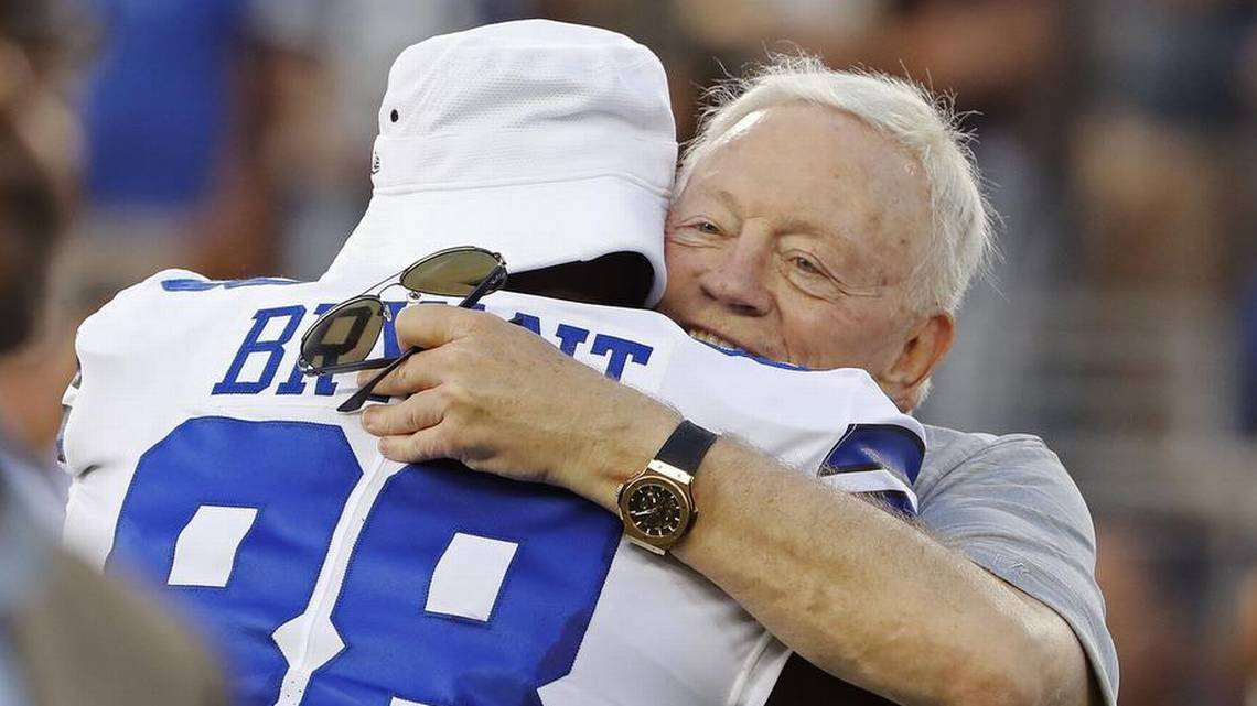 Jerry Jones On Cowboys Adding Dez Bryant? 'I've Been Thinking About It In The Shower'