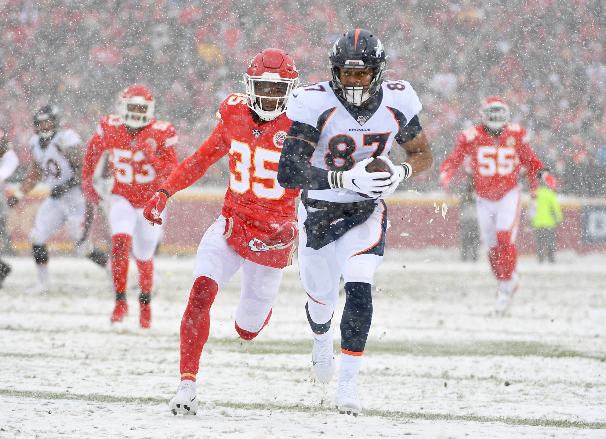 It Sounds Like Vic Fangio Expects a Breakout Year Two for Broncos' TE Noah Fant