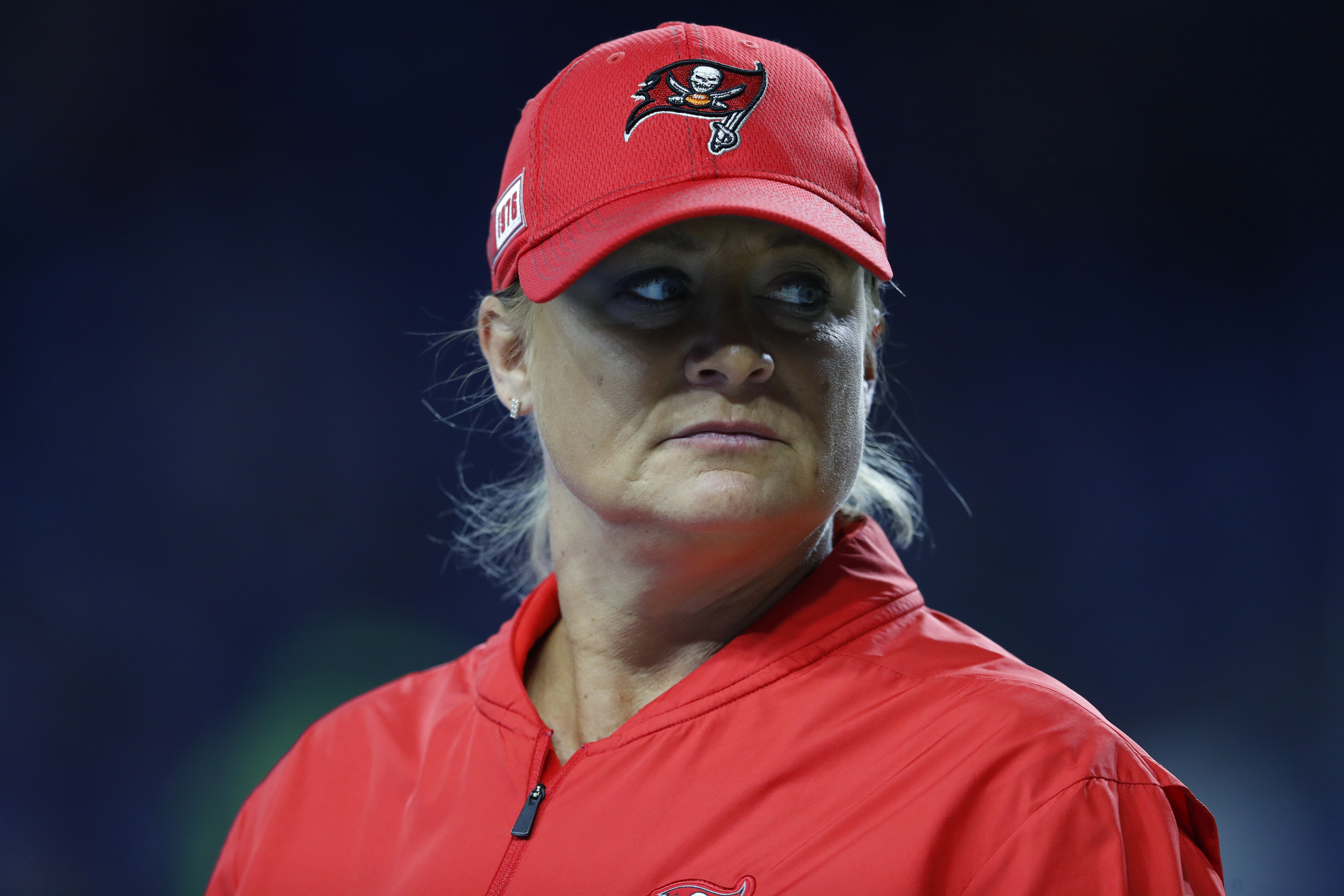 Bucs Coach Lori Locust Talks Success, Sacrifice at NFL Combine