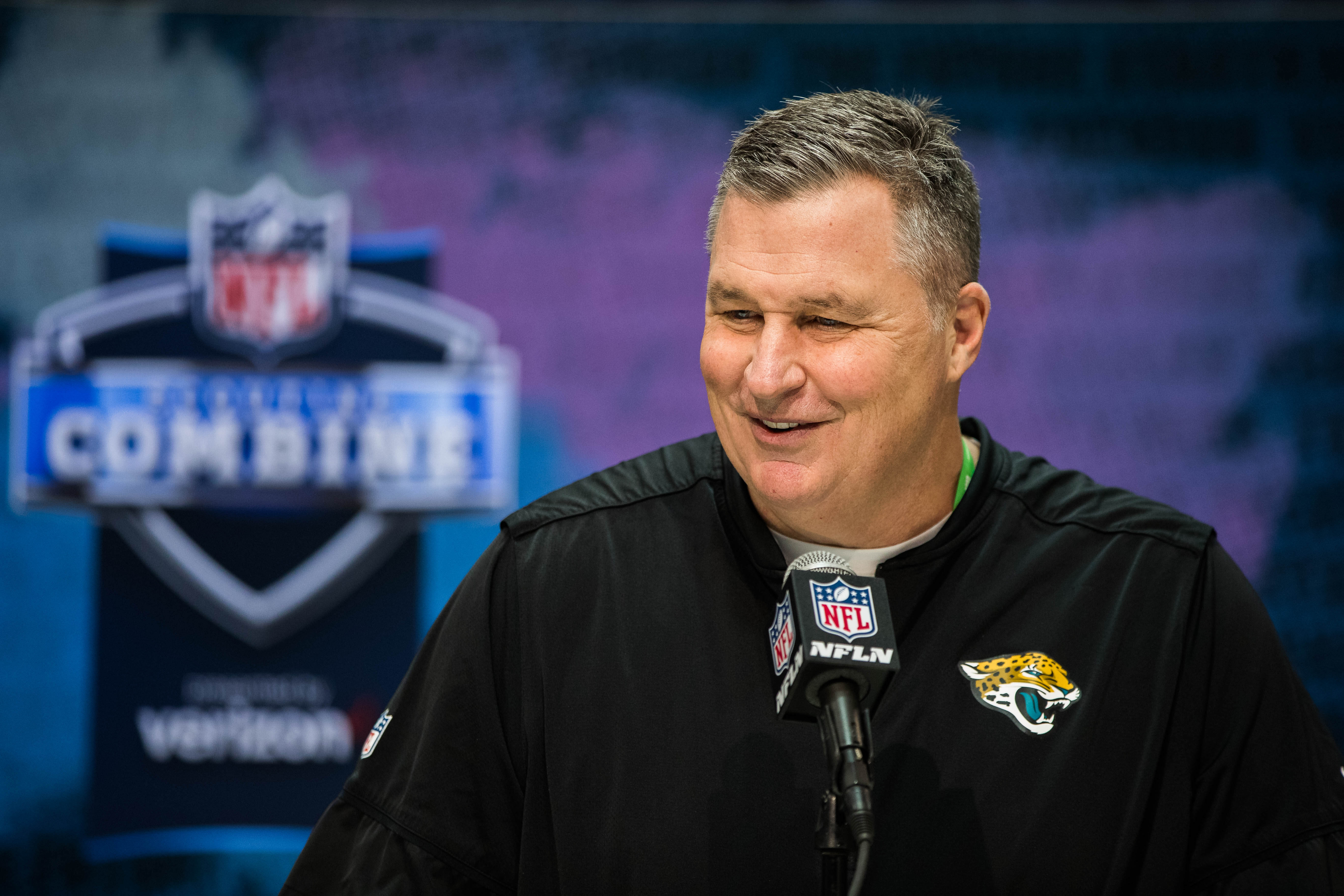 Jaguars HC Doug Marrone on New Offensive Assistants Jay Gruden and Ben McAdoo: 'Those Guys Have Fit in Great'
