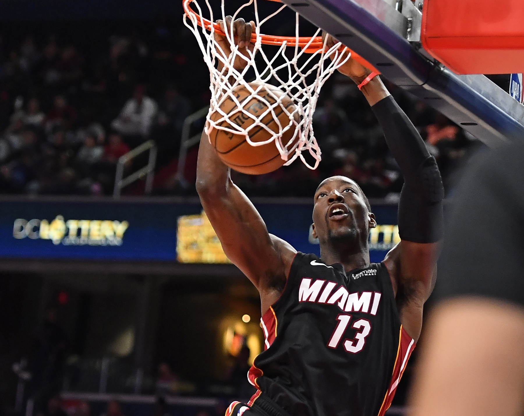 Heat's Bam Adebayo is winning social media during league suspension