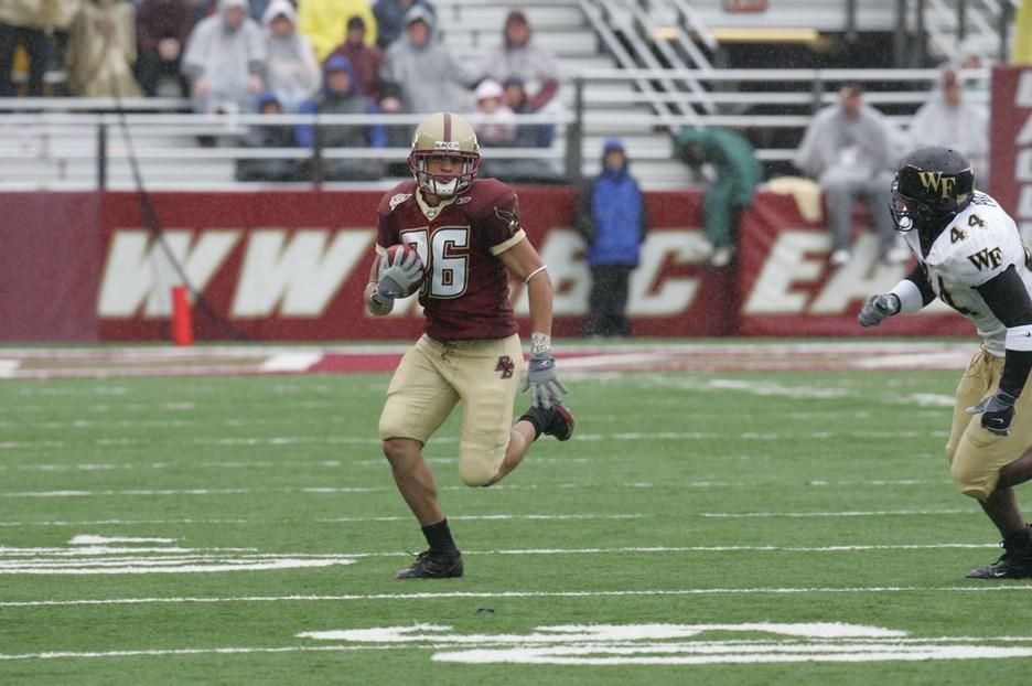 Boston College Football Alumni Profile & Interview: WR ...