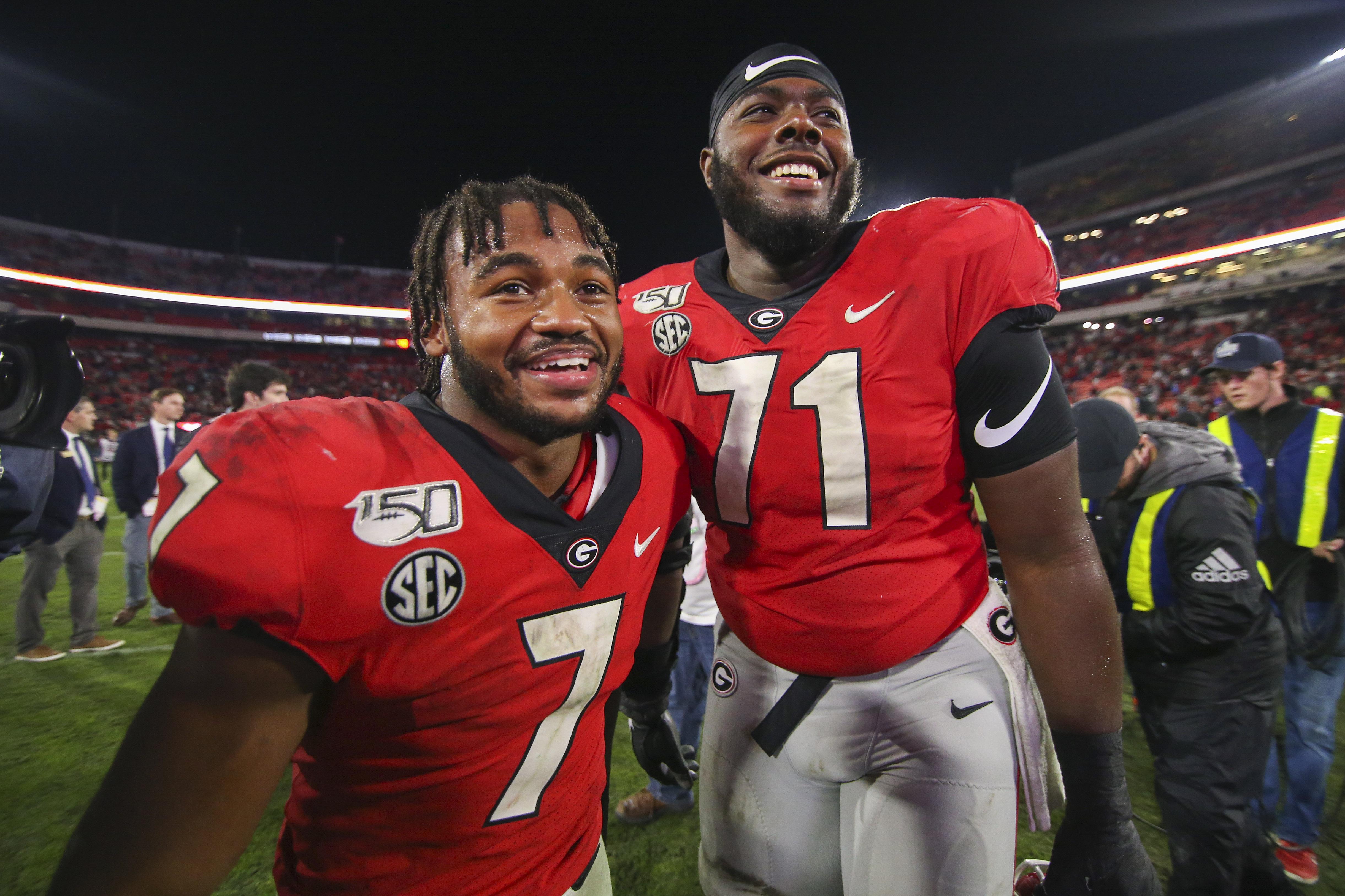 Georgia Football: Three Bulldogs in Todd McShay's Two Round NFL Mock Draft