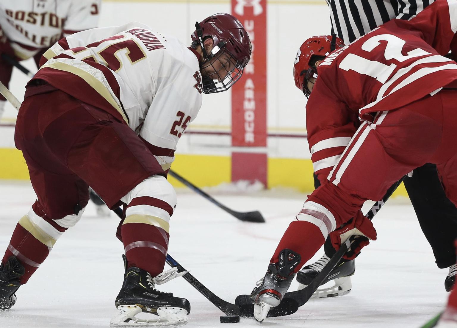 Marc McLaughlin Named Captain of 2020-21 Men's Hockey Team