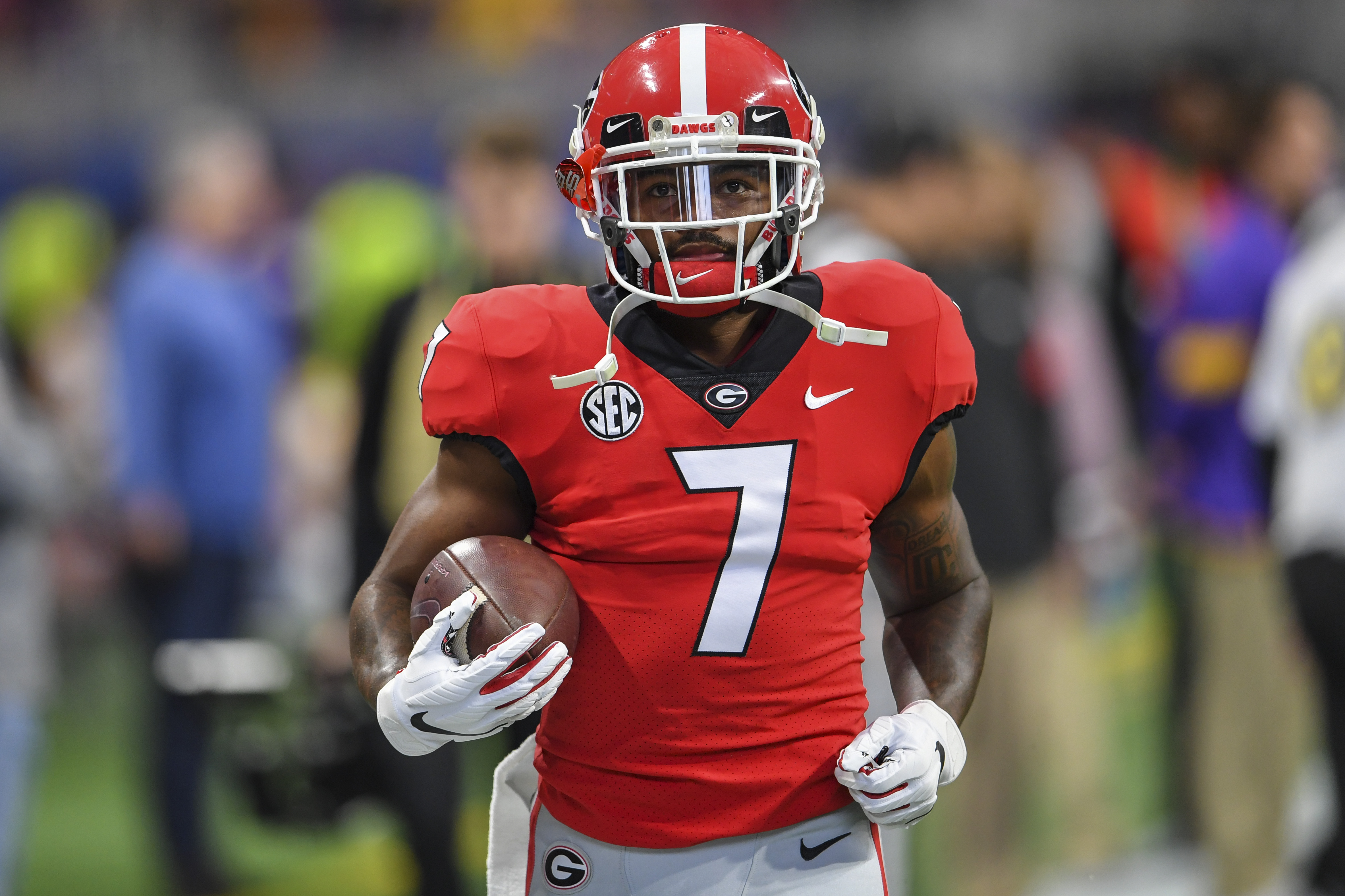 Could the Chiefs draft a running back in round one?