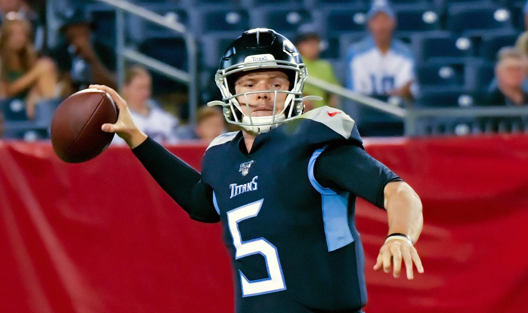 Is This The Titans Next Backup Quarterback?