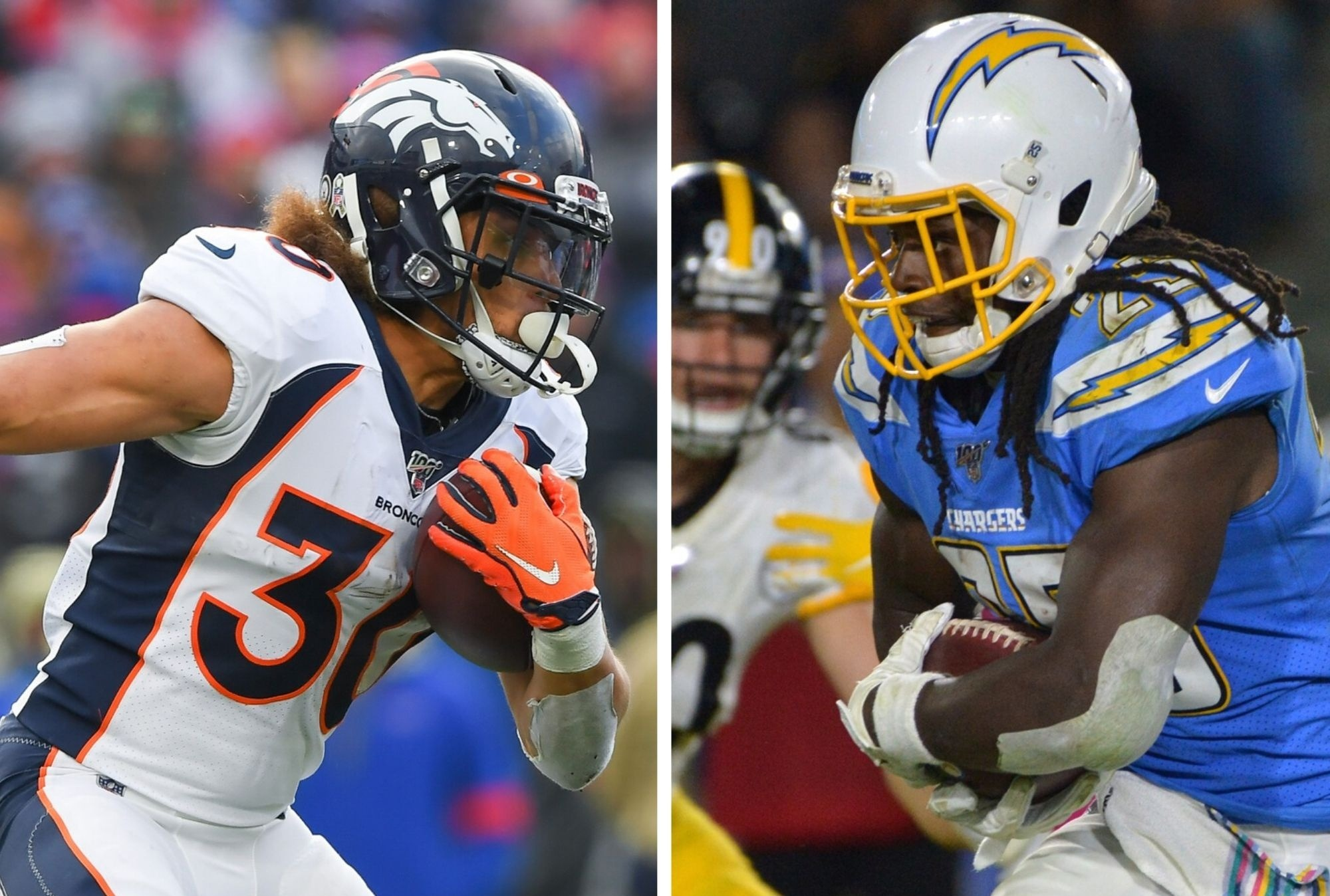 Eye-Opening Stat Revealed Showing one Crucial Difference Between RBs Melvin Gordon & Phillip Lindsay