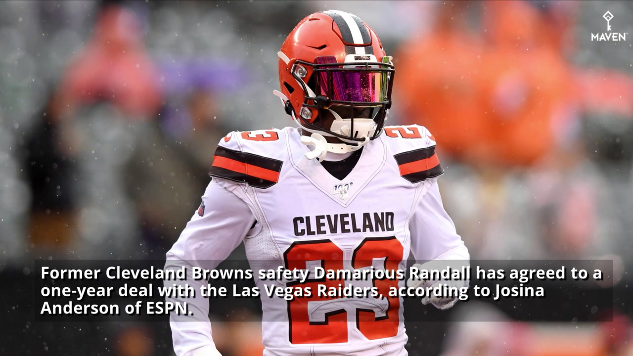 Damarious Randall Signs One-Year Deal With Las Vegas Raiders
