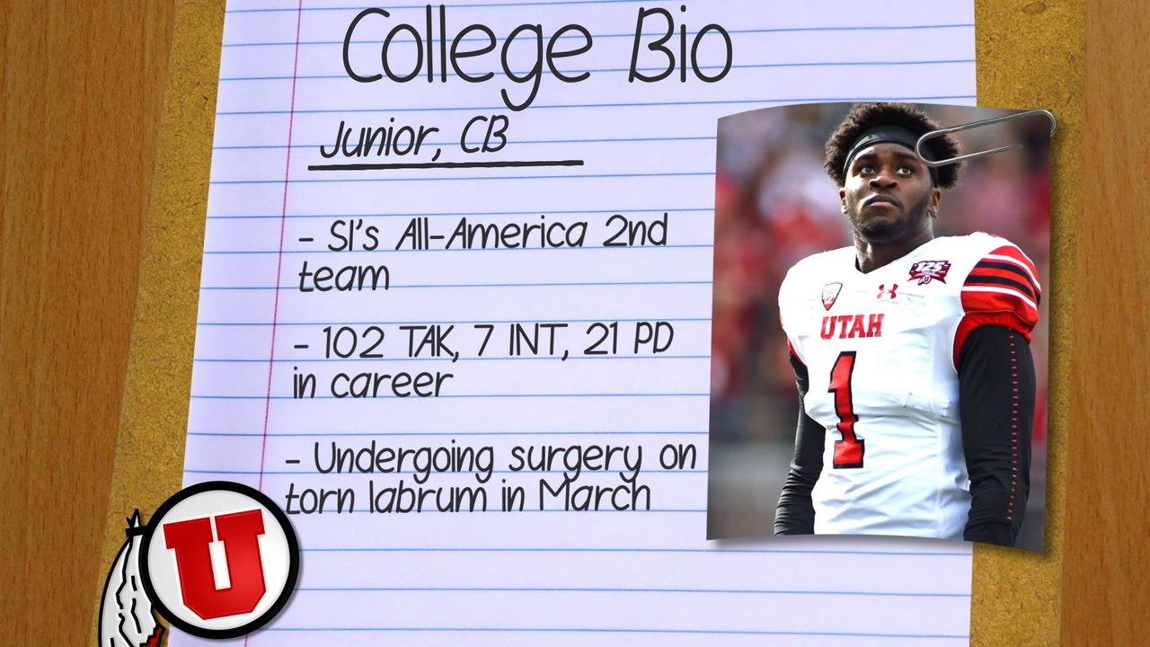 How Utah CB Jaylon Johnson fits with the Kansas City Chiefs