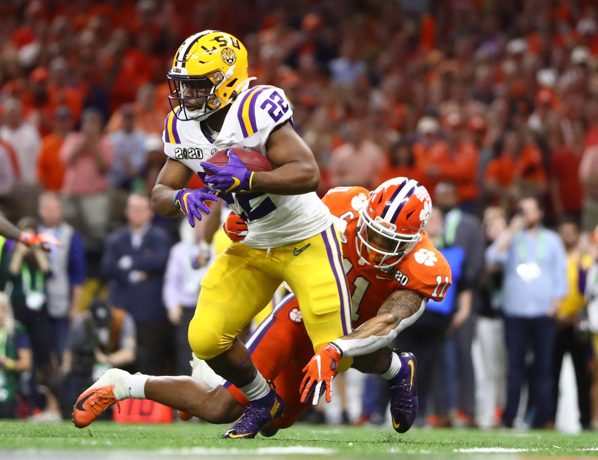 Finding Broncos: Clyde Edwards-Helaire, RB, LSU | How he Fits, Where he Goes