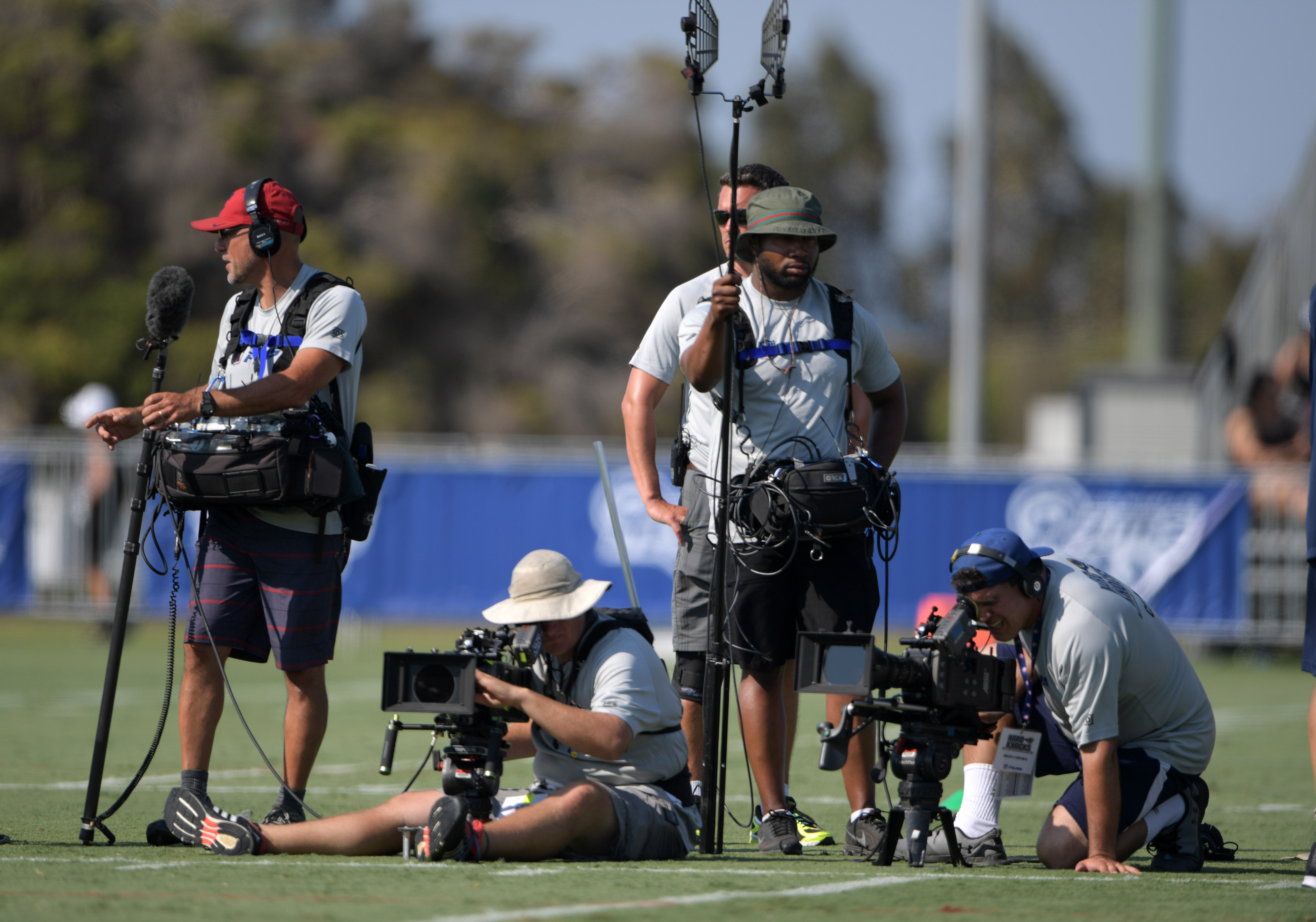 Chargers, Rams to Costar on 'Hard Knocks' During Training Camp