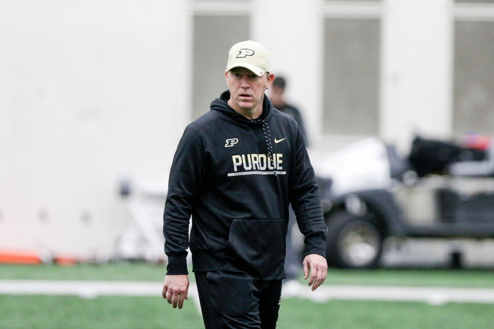 Right or Wrong? Purdue's Jeff Brohm Ranked 8th Among Big Ten Coaches