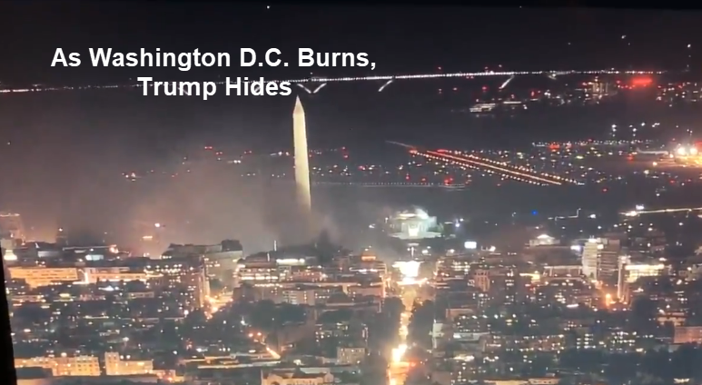 """Law and Order"" President in Hiding as D.C. Burns"