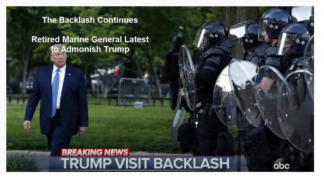 General aposentado da Marinha é o mais recente a advertir Trump 2