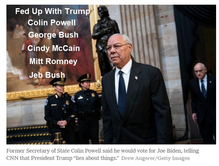 O destaque de Trump muda para Colin Powell 2