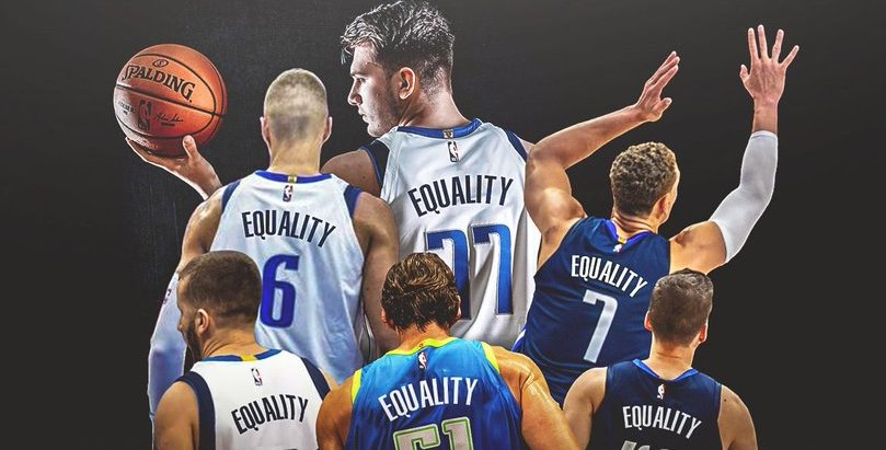 'Equality': The Dallas Mavs Uniform Plan in NBA Bubble