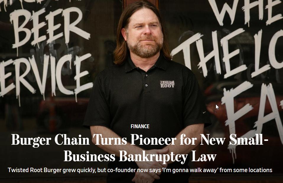 Um aumento nas falências de pequenas empresas está em andamento 2