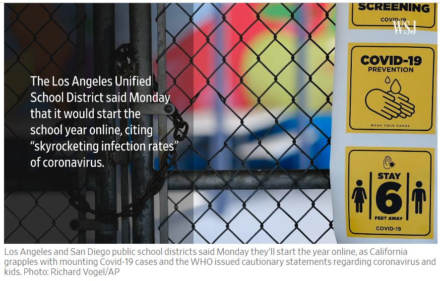 Algumas escolas públicas não reabrem, o que os pais farão? 2