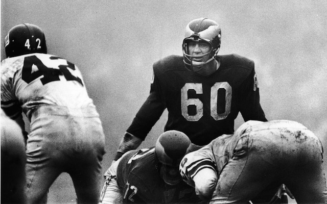 There is Only One No. 60 - Chuck Bednarik