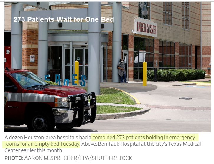 Pacientes presos em pronto-socorros enquanto hospitais enchem 2