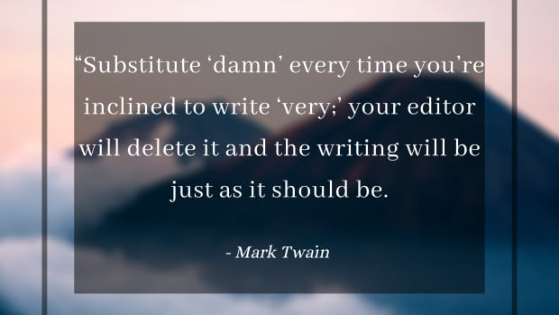 为什么和如何避免成为一个更好的作家