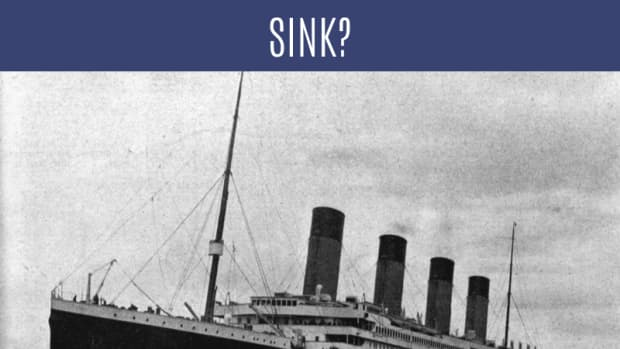 where-did-the-titanic-sink