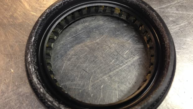 Axle seal outer view