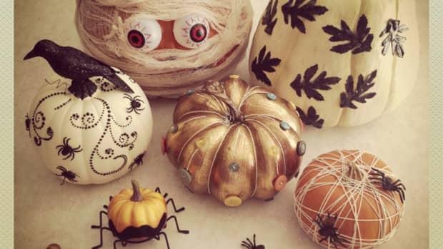 no-carve-halloween-pumpkins-ideas-for-decorating-pumpkins