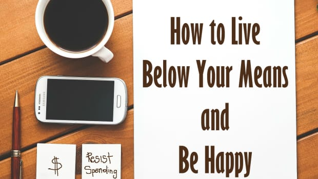 How to live below your means and be happy.