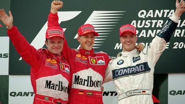 2000年澳大利亚大奖赛迈克尔·舒马赫职业生涯第36场胜利