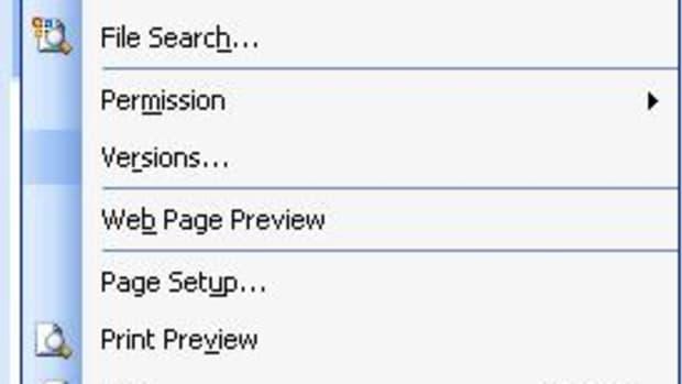 using-the-file-menu-in-microsoft-word-2003