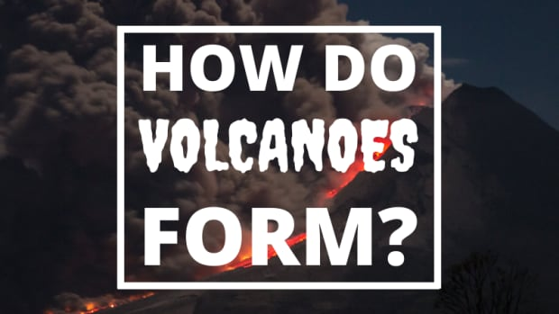 how-does-a-volcano-form
