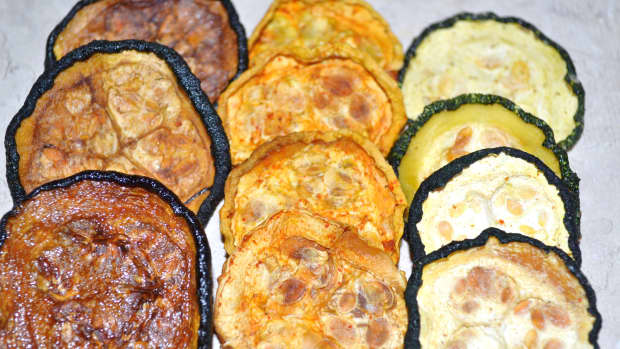 dehydrated-zucchini-chips-healthy-and-nutritious