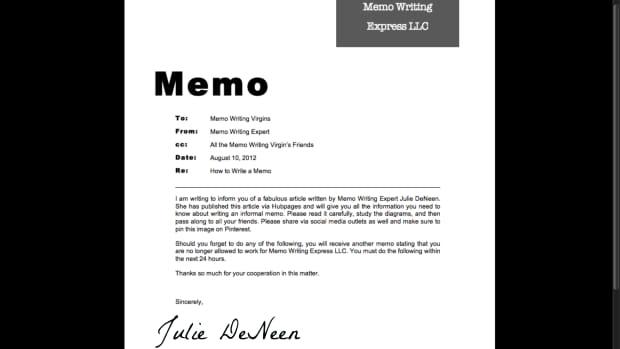 how-to-write-an-informal-memo