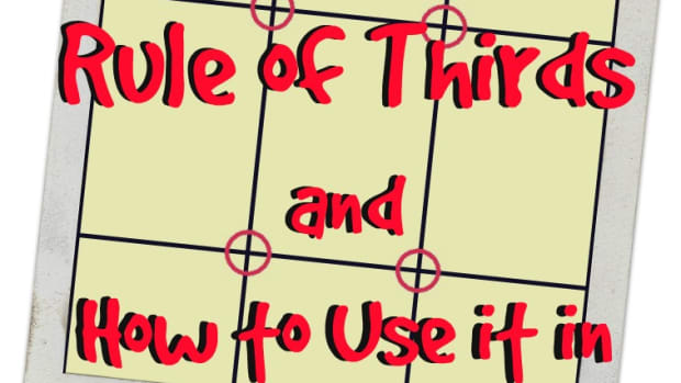 The rule of thirds and how it applies to painting.
