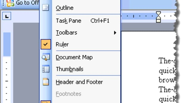 using-the-view-menu-in-microsoft-office-word-2003