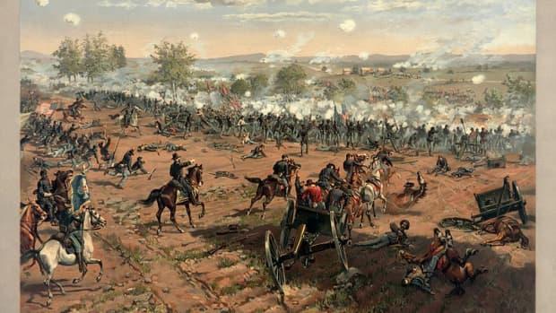 the-american-civil-war-battle-of-gettysburg