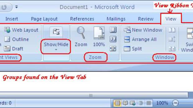 using-the-view-tab-of-microsoft-office-word-2007