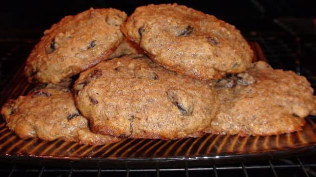 organic-steel-cut-oatmeal-cookie-recipe-with-coconut-oil