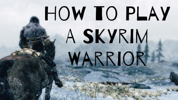 how-to-play-as-a-warrior-in-the-elder-scrolls-v-skyrim