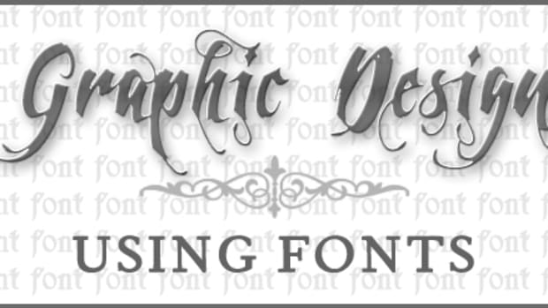 graphic-design-using-fonts