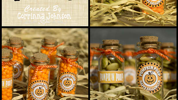 pumpkin-poop-mini-bottle-craft-with-printable-tags-labels