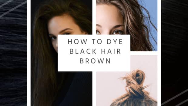 how-to-dye-black-hair-brown