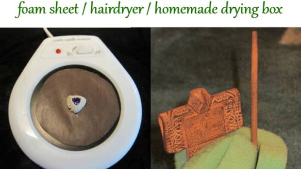 drying-metal-clay