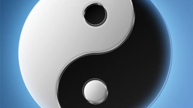 yin (+) and yang (-) provide the basis for I Ching readings