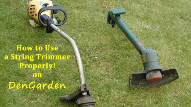 how-to-use-a-string-trimmer-properly