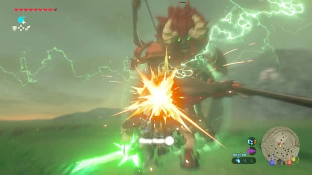 how-to-defeat-the-lynel-on-shatterback-point-in-the-legend-of-zelda-breath-of-the-wild