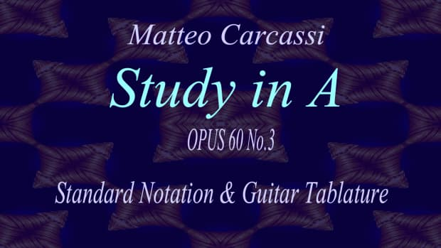 carcassi-classical-guitar-study-in-a-opus-60-no3-in-standard-notation-and-guitar-tab